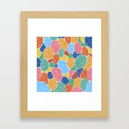 Pet Rocks Framed Art Print