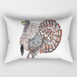 Tom Turkey Rectangular Pillow