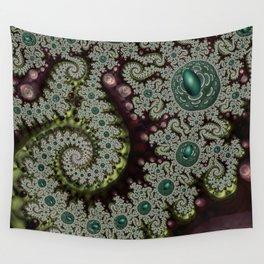 Caterpillar Fractal Wall Tapestry