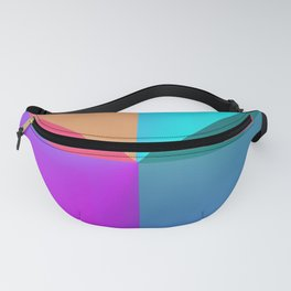 Gradient background Fanny Pack