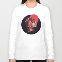 bride Long Sleeve T-shirts featuring the bride by Peg Essert