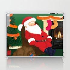 Sleeping Santa Laptop & iPad Skin