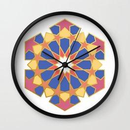 ISLAMIC ART GEOMETRIC DESIGN Wall Clock