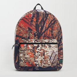 NYC Cherry Blossoms on the Lower East Side Backpack