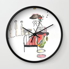Sleepwalking Wall Clock