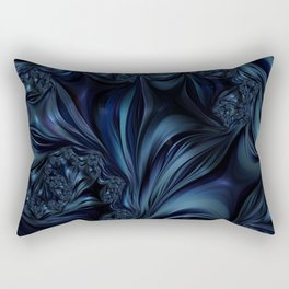 Midnight Lark Rectangular Pillow