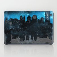 john green iPad Cases featuring Cityscape Galaxy Paper Towns John Green Inspired  by denise