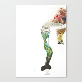 Provocative Leg Canvas Print