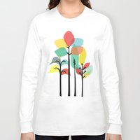 tropical Long Sleeve T-shirts featuring Tropical Groove by Picomodi