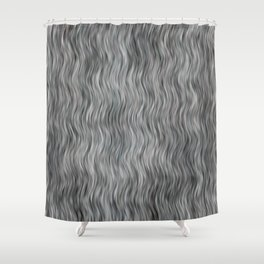 Abstract Streaks Pattern Shower Curtain