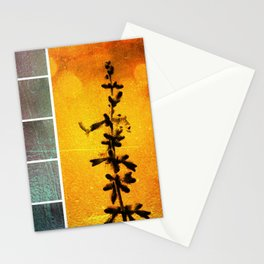 Pervoskia Collage Aflame Stationery Cards