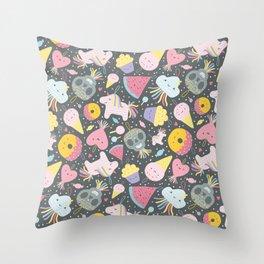 Cute Pinatas Throw Pillow
