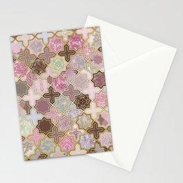Neapolitan Geometric Tile Pattern Stationery Cards