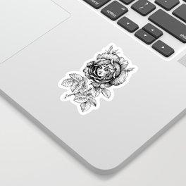 Sad Rose Sticker