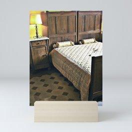 Sardinian bed room Mini Art Print