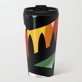 Depemiro Abstract Colorful Art Travel Mug