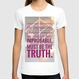 illuminate the impossible T-shirt