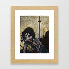 Nibble Framed Art Print