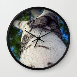 White Monument Wall Clock