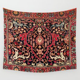 Bijar Poshti Kurdish Northwest Persian Rug Print Wall Tapestry
