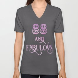Women 88 Years Old And Fabulous 88th Birthday Party print Unisex V-Neck