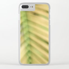 Palm Tree Haze Clear iPhone Case