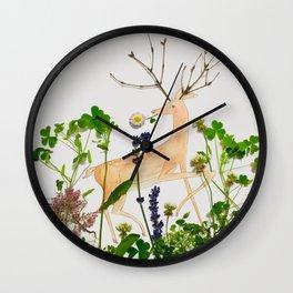 Deer Me! Wall Clock