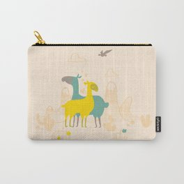 Llama Love Carry-All Pouch