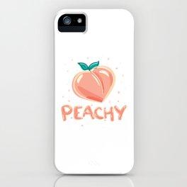 Peachy iPhone Case