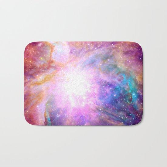 Galaxy Nebula Bath Mat