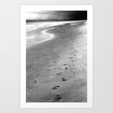 Like Sands Through The Hourglass Art Print