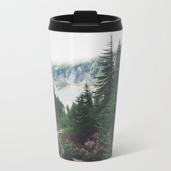 Mountain Trails Metal Travel Mug