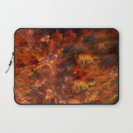 In fire Laptop Sleeve