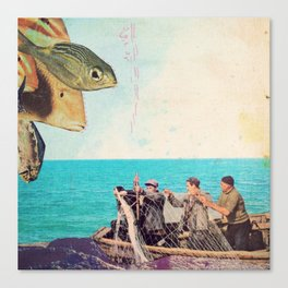 fisher Canvas Print