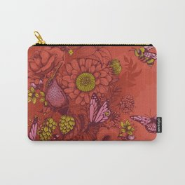 Beauty (eye of the beholder) - terracotta version Carry-All Pouch
