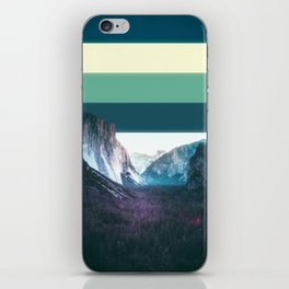 Colorscape III iPhone Skin