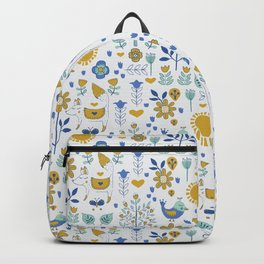 Folky Fox and Friend Backpack