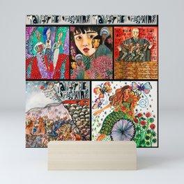 Hadestown Collage Mini Art Print