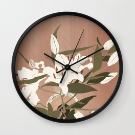 Lilly's on the table  Wall Clock