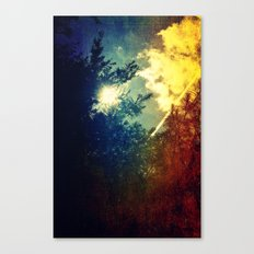 Dreaming in Color (of My First Flight) Canvas Print