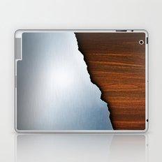 Wooden Brushed Metal Laptop & iPad Skin