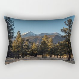 San Francisco Peaks Rectangular Pillow