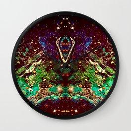 Dragonhead Nebula I Wall Clock