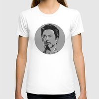 sansa stark T-shirts featuring Tony Stark by Hazel