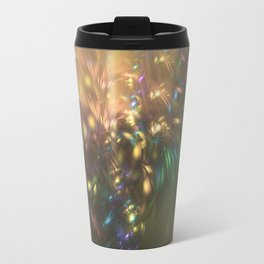 Golden splash Travel Mug
