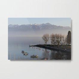 Lausanne Afternoon Metal Print