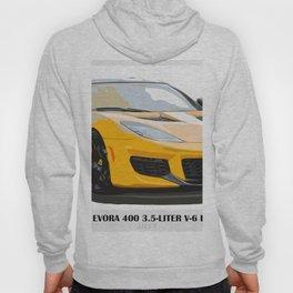 Yellow fast car Hoody