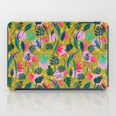 Cool summer in the mustard iPad Case