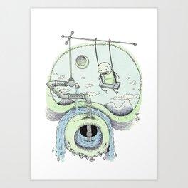 Swing Art Print