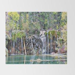 Hanging Lake, Colorado Throw Blanket